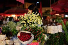 Những chợ hoa đêm tại Hà Nội1