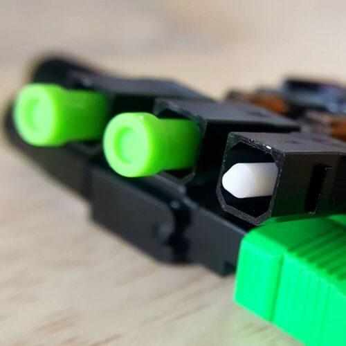 Cách sử dụng đầu fast connector kết nối cáp quang và thiết bị